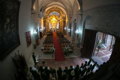 Boda en Santo Domingo. Iglesia castrense Valencia, Capitanía General